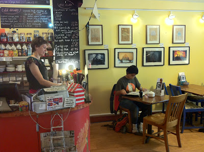 Picture of the inside of The Art House Gallery Cafe