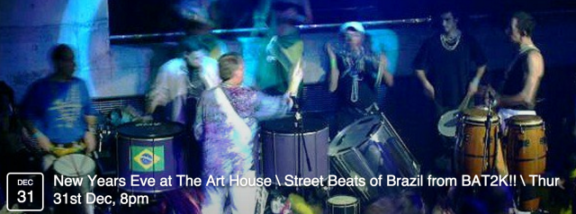 Featuring irresistible songs, rhythms and dance from the streets of Brazil! Great food, drinks and friends, too. A perfect end for 2015.