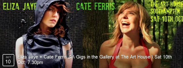 Two amazingly talented singer/songwriters in one evening - not to be missed BOOK NOW