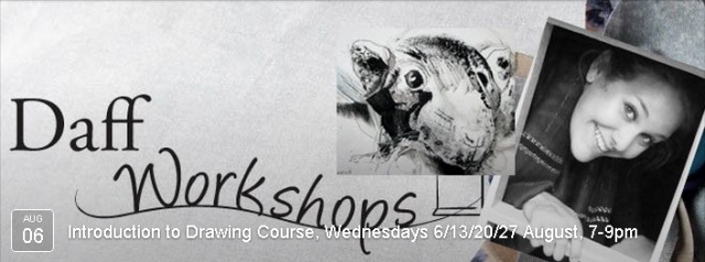 4 week introduction to drawing course with Caroline Misslebrook