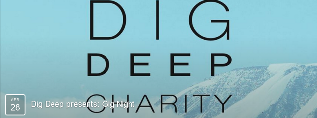 Dig deep is an amazing charity that is dedicated to helping provide sustainable technologies to rural communities in Kenya. Come along for a night of great music and support this incredible charity! FACEBOOK EVENT HERE