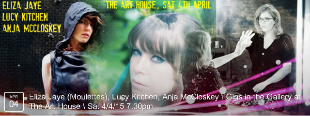 Three top-notch artists in one night - unmissable! BOOK NOW