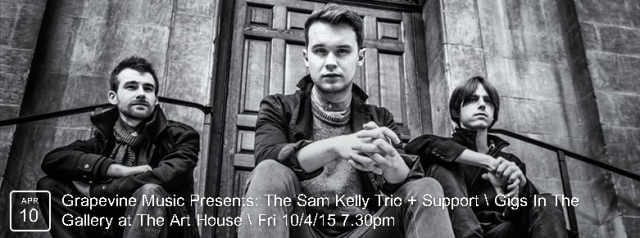 A fast-rising performer on the UK circuit – Sam has been championed by both Cara Dillon & Sean Lakeman. He is  accompanied by Jamie Francis and Evan Carson and they form a stunning acoustic trio.  BOOK NOW