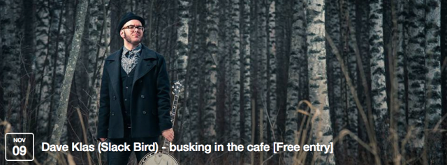 Slack Bird's music is a mix of old American folk music and melancholic melodies and stories of present day Finland sung in both Finnish and English with power and rawness of punk music which Slack Bird members grew up to and still play today.