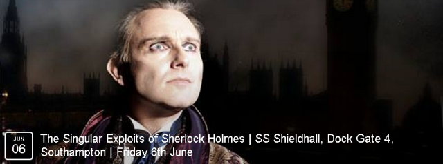 The Singular Exploits of Sherlock Holmes features the great detective recounting highlights of his crime-busting career.