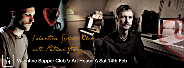 Join us for a relaxed, candlelit evening with top notch food at The Art House! Seated upstairs in our gallery on cosy tables for 2 (or book for a group of friends) this is a wonderful night away from the usual cheesy, crowded commercial places. To top it all, we welcome back Patrick Ytting on our piano to play for you at various points in the evening.