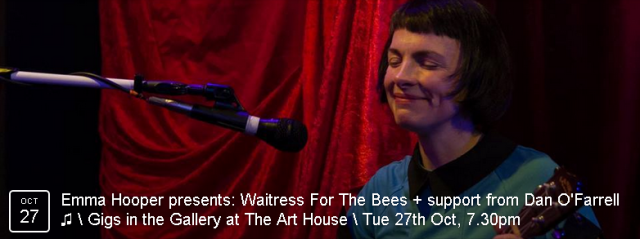 Emma Hooper returns with her quirky, mesmerising set of live looping avant-folk   BOOK NOW