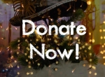 christmas donate button