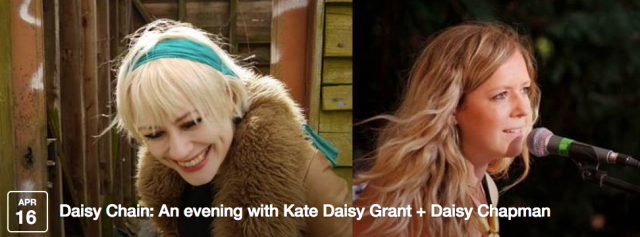 Kate Daisy Grant and Daisy Chapman