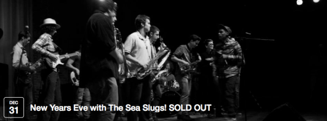 A night of funky Afrobeat from the ridiculously amazing Southampton-based band The Sea Slugs. There are so many of them, they're going to spread themselves all over the cafe and in amongst the audience for a fully-immersive musical experience :) Think Fela Kuti, Salif Keita, Antibalas, Orchestra Baobab, Amadou & Mariam, Vieux Farka Toure.