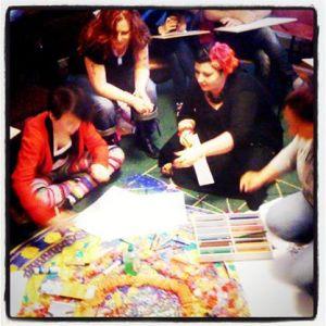 Glitterlicious Creativity playshop with Jani Franck