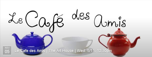 French Language Cafe, 12.30pm
