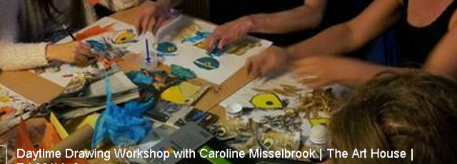 Regular Friday afternoon drawing class - CLICK HERE FOR MORE DETAILS