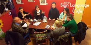 British Sign Language Cafe