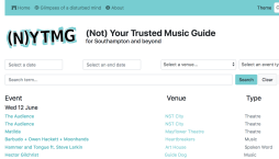 (Not) Your Trusted Music Guide